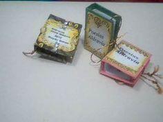 Pingente Capa Micro Book tema poesias/ by Neyde Bohon