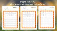Kategória Pre prvákov - Page 3 of 5 - Nasedeticky. Dyslexia, Periodic Table, Diagram, Chart, Map, Education, School, Smile, Periodic Table Chart