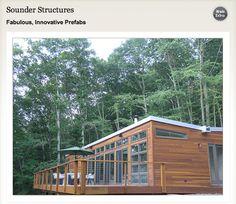 Blog Res4-designed modern prefab cabin in Lost River, West Virginia. Visit LostRiverModern