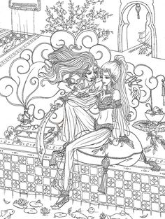 Printable February coloring page. Free PDF download at http ...
