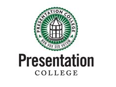 Presentation College. Logo designed by McQuillen Creative Group.