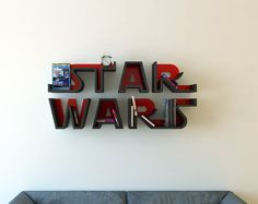 Star Wars, logo, shelf, interrior, design, bookshelf