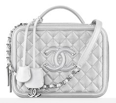 623457e637bc Travel back in time with the Chanel Vanity Case! One of the standout pieces  from the Chanel Airlines collection.