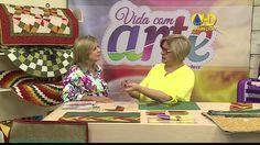 Patchwork Ana Cosentino: Pasta para Placa e Materiais (Programa Vida com...