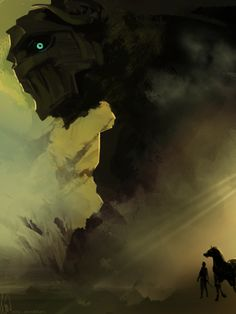 Shadow Of The Colossus - by Lenqi