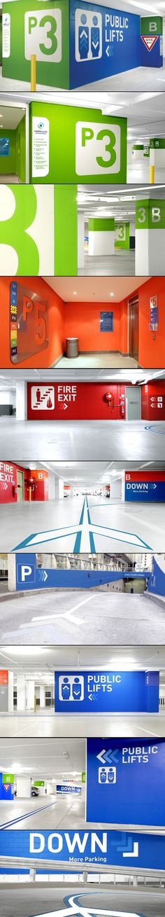 Brookfield Multiplex Car Park, Australia by Brand Culture 2010