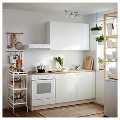 KNOXHULT Base cabinet with doors and drawer - white - IKEA