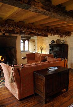 Monks Hall in Brockweir-----I'm no monk, but could live here happily.