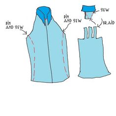 WobiSobi: Men's Shirt to Halter, DIY- don't braid the back, but give it a racerback ?