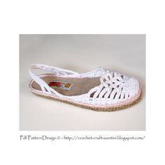 Lacey SlingBack Slippers One-Piece Basic by PdfPatternDesign