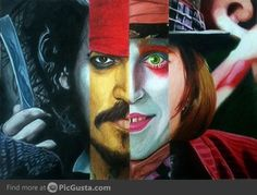 Awesome Johnny Depp Character Montage