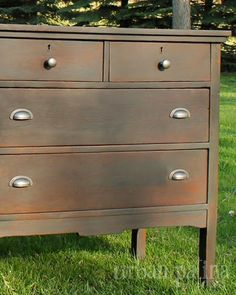 Urban Patina: Rescued Relics + Upcycled Junk: Antique Industrial Chest of Drawers + Dresser Set