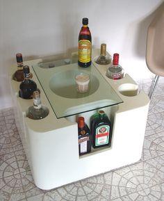 1967 Artemide Bacco bar