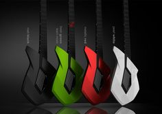 Touch guitar concept by Formquadrant