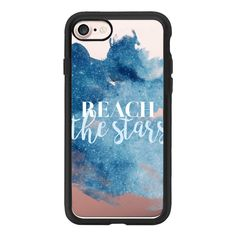 Reach The Stars - iPhone 7 Case And Cover (145 PLN) ❤ liked on Polyvore featuring accessories, tech accessories, phone cases, iphone case, iphone cover case, clear iphone case, apple iphone case and iphone cases