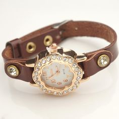 Girls Casual Dresses, Fashion Watches, Pu Leather, China, Free Shipping, Crystals, Stuff To Buy, Accessories, Women