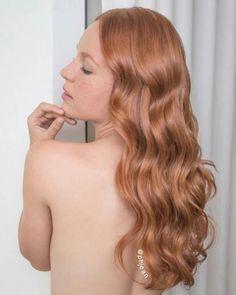 Ruivo nude - tendência 2017