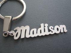 Classy Key Ring Katia Real Gold-Plated Gold Name Keychain Keyring
