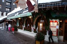 This is the whole family's fave restaurant ever!....brasserie la cloche inBelle Plagne,French Alps...
