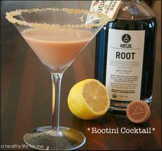 Rootini: Root Liqueur, Vanilla Extract, Lemon, Turbinado Sugar, Heavy Cream.