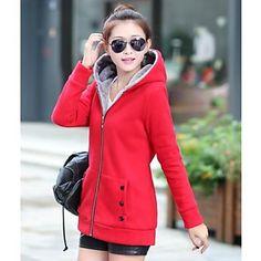 la mode, plus décontractés pour femmes tailles long manteau lâche - EUR € 22.68
