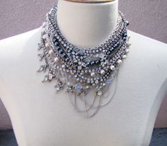 DIY Chunky Necklace & other jewelry tutorials