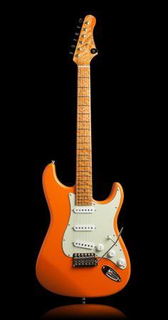 Ufnal Guitars Juicy Orange model