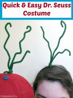 Quick and Easy Dr. Seuss Costume - Organized 31