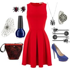 spiderman inspired outfit - Google Search