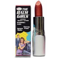 theBalm Foxxy Pout Lipstick (Foxxy Pout), Brown