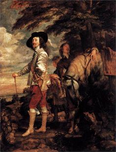 Anthony van Dyck (Antwerp 1599 - London 1641)  Charles I, King of England at the Hunt   1635  Musée du Louvre