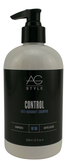 AG Hair Control Anti-Dandruff Shampoo, 12 Ounce -- See this great product.