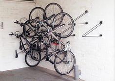 Bicicletero Colgante - Velópolis - Bicicleteros