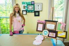 DIY Frame Collage (Home & Family Video Tutorial)