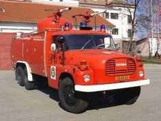 Tatra T 148 brandweerauto!