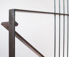 Modern railing detail
