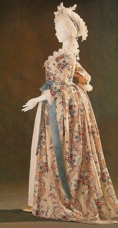 gown from the 1790s