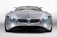 oldish bmw concept.. called the GINA light visionary model.. well worth a quick search on youtube to  see how the fabric moves... Looks like a cat or a shark!