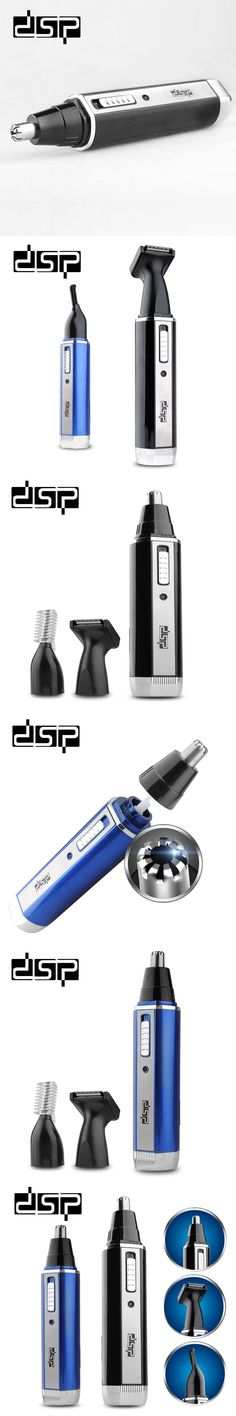 DSP 3 In 1 Rechargeable Nose Trimmer beard trimmer eyebrow waterproof trimmer for nose and ear Face ear trimmer for men