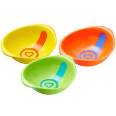 White Hot® Bowls - strip alerts you when food is too hot to feed.