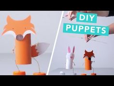 How To Make Toilet Roll Puppets | Nailed It - YouTube