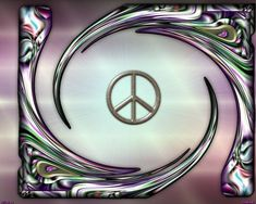 """Great addition to the I Declare World Peace """"peace symbol"""" collection Hippie Peace, Hippie Love, Hippie Chick, Hippie Art, Hippie Style, Peace On Earth, World Peace, Peace Love Happiness, Peace And Love"""