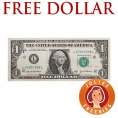 Free Dollar Bill in the Mail (a real one)