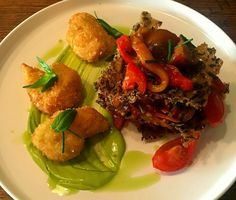 Our vegan lasagne is back for summer. Even the cheese is vegan. Olive Restaurant http://www.oliverestaurant.co.nz/