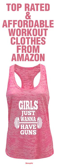 Top Rated & Affordable Workout Clothes from Amazon