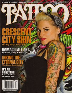Be on the front cover of a tattoo magazine! Tattoo Magazines, Crescent City, All Or Nothing, Cover Tattoo, Pin Up, Ink, Tattoos, Sexy, Magazine Covers