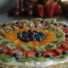 The best fruit pizza recipe - from Allrecipes.com