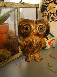 Vintage 1970s Japanese Owl
