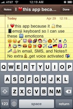 The Emoji App for IPhone