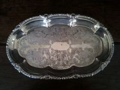 Vintage English Fancy Tray Purchase in store here http://www.europeanvintageemporium.com/product/vintage-english-fancy-tray/